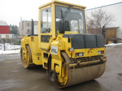 BOMAG BW 151 AD-2 tandemhenger